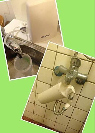 沐浴濾水器