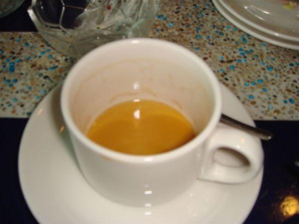 餐後咖啡(已喝完)