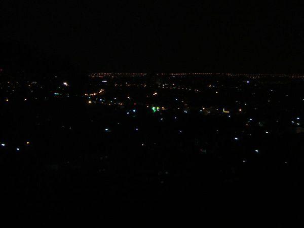 蘭陽平原夜色