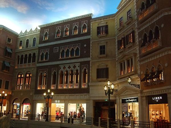 威尼斯人裡的街道