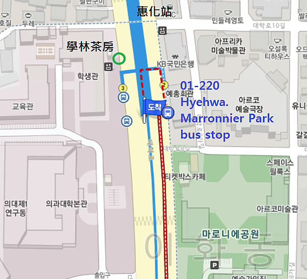01-220Hyehwa. Marronnier Park bus stop.png