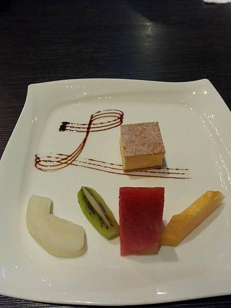 水果、起司蛋糕