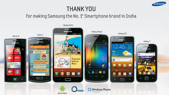 samsung-india-number1