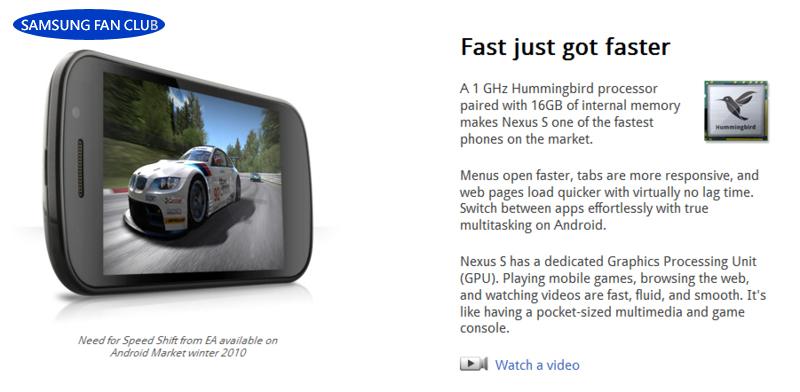 Google聯手打造全球首款Android 2.3手機─Nexus S 11.jpg