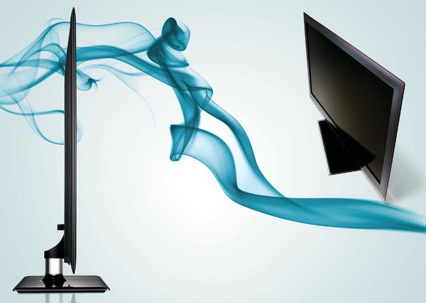 Samsung LED TV 600 0 及7000系列,運用了三星專屬Sa msung Ultra Slim L ED技術,機身最薄2.99公分.jpg