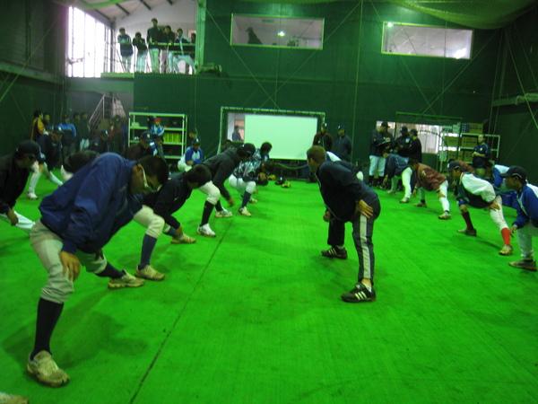洋基投捕訓練營D1-1