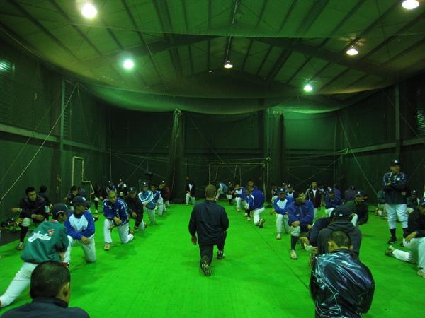 洋基投捕訓練營D1-2