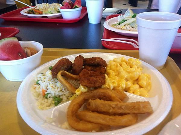 美國的第二餐