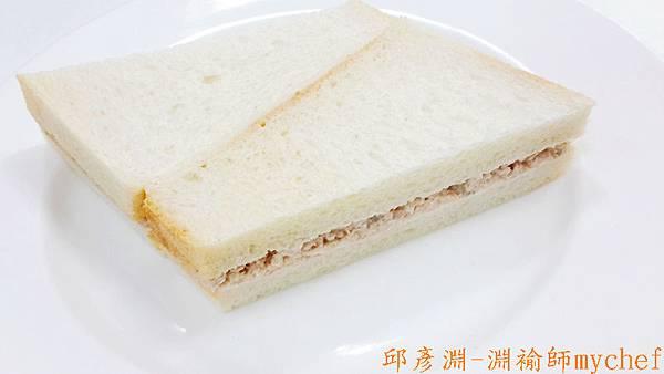 邱彥淵-淵褕師mychef.301E鮪魚沙拉三明治