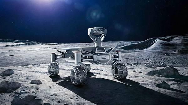 奧迪公司生產的月球四輪車將會在月球上進行探勘任務.jpg