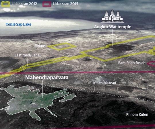 柬埔寨熱帶雨林中發現中世紀地下城市
