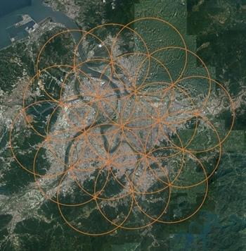 如意寶珠交疊的能量漩渦場將台北市完全包覆住.jpg