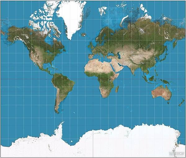 麦卡托投影法地图.jpg