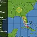 氣象報告原本預期伊瑪颶風直撲坦帕市的時候會是個強度3-4級.jpg