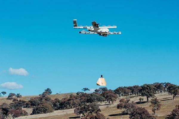 Google 母公司 Alphabet 旗下的無人機計畫「Project Wing」有了新進展,這次是在澳洲送墨西哥捲餅和藥品.jpg