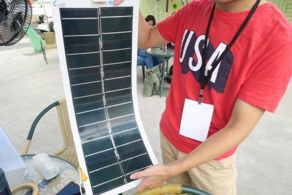 薄膜太陽能電池具有可摺疊、輕、薄、易攜帶等特性2.jpg