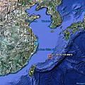2011年在中國東部海域的這個位置一處蜥蜴人海底基地被消滅.png