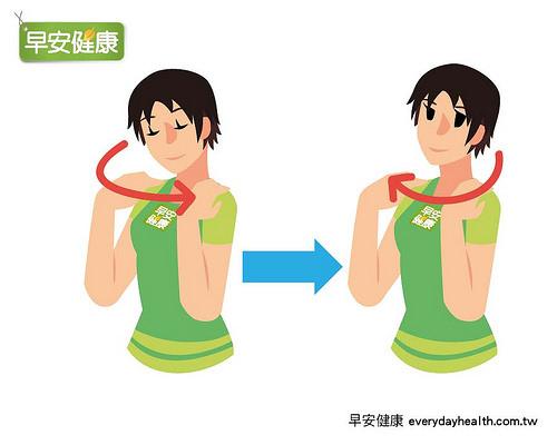 當生氣的時候你可以這樣做 2.頭伸直並將雙手搭在兩肩上.jpg