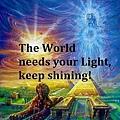 這個世界需要你的光芒。請大家繼續發光發熱!.jpg