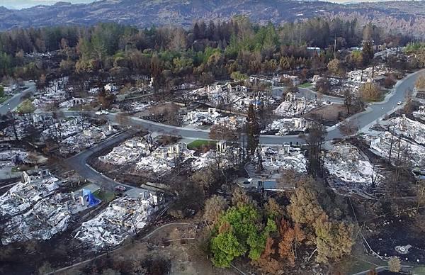 建築物被大火完全摧毀而旁邊的樹木卻沒有受到傷害1.jpg