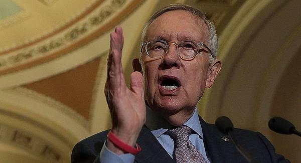 聯邦參議院民主黨領袖的內華達州議員Harry Reid.jpg