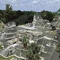 中美洲叢林發現瑪雅巨大古城2-一座在古瑪雅城市蒂卡爾中心的金字塔是瓜地馬拉東北部主要的遊客目的地.jpg