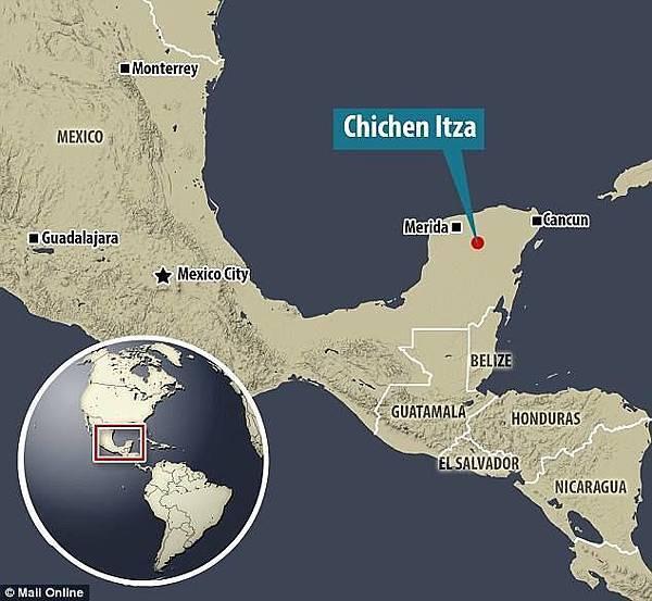 中美洲叢林發現瑪雅巨大古城11-建造奇琴伊察的瑪雅人主宰了墨西哥東南部的尤卡坦半島.jpg