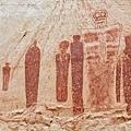 美國猶他州的岩畫生物畫的是天空人1.jpg