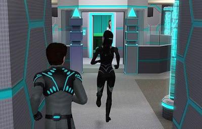 當你抵達抵抗運動的基地,你會看到一道高科技的門.jpg