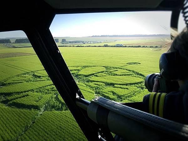 2018-6-17 英國威爾特郡鄰近巨石陣的麥田圈-作物已經開始恢復生長1.jpg