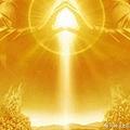 觀想我們這些存有在你們面前,非常明亮,呈金黃色,象徵著聖愛.jpg
