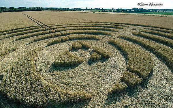 2018-7-14 英國威爾特郡宛如輻射狀的麥田圈7.jpg
