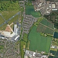 麥田圈距離1.5公里左右則是倫敦紹森德機場.jpg