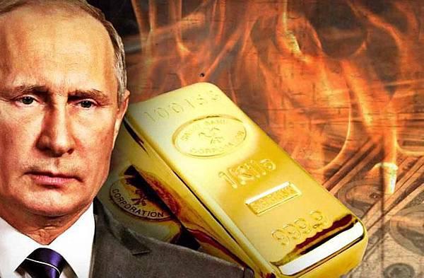 俄羅斯選擇投資黃金,目前持有的美國國債創下了11年來的新低.jpg