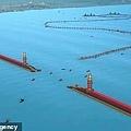 CGI圖像顯示了一座75米寬,5英里半長巨大的海港牆.jpg