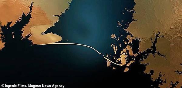 莫林‧巴羅斯海港牆的殘餘區域的地形掃描圖.jpg