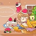 2012年12月-桌布-聖誕炸雞餐-1024-768