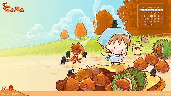 2012年10月-栗子-1920-1080