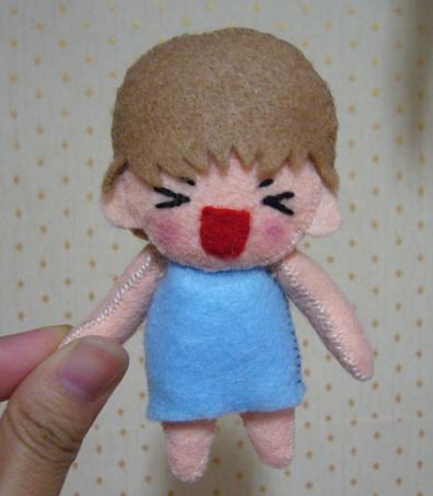 小倩的手工SANA娃娃
