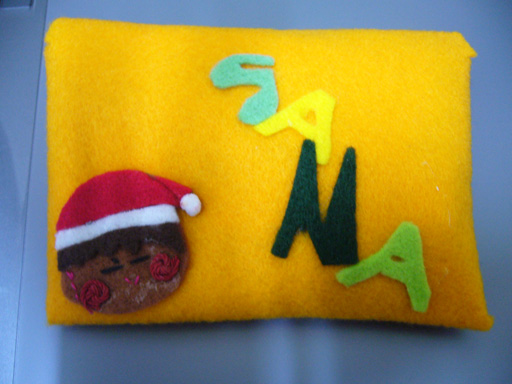 20070215-一V一送的手縫SANA娃娃-外封套