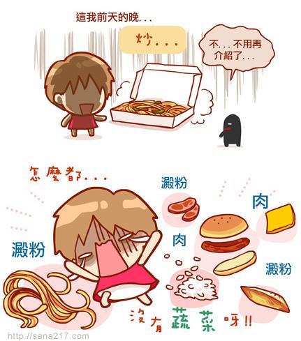 漫畫-20130604-波蜜-不吃菜很危險-1-2