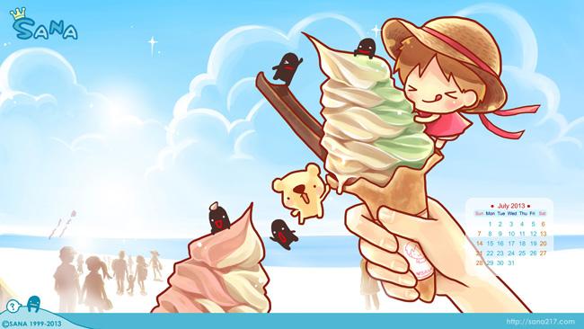 20130702-桌布-7月-冰淇淋海灘-預覽.jpg