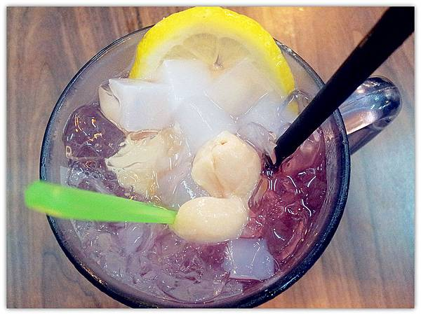 I Love You (Ribena,Longan,Soda,Lemon)