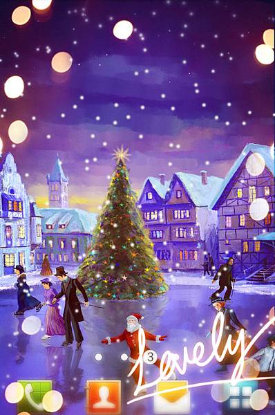 7art Studio Christmas Live Wallpaper