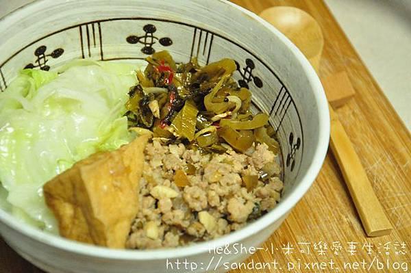 20111115 蔭瓜肉臊飯