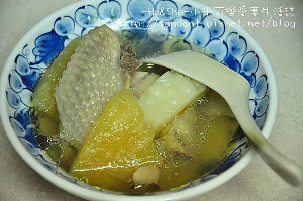 鹹鳳梨苦瓜湯