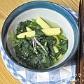 地瓜葉小魚干湯