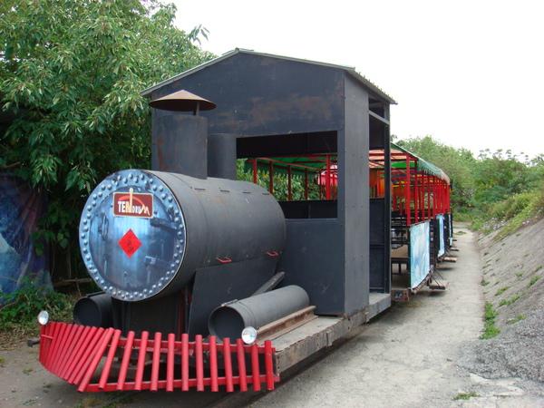 剛剛搭的小火車原貌