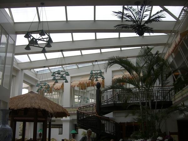 知本老爺飯店大廳