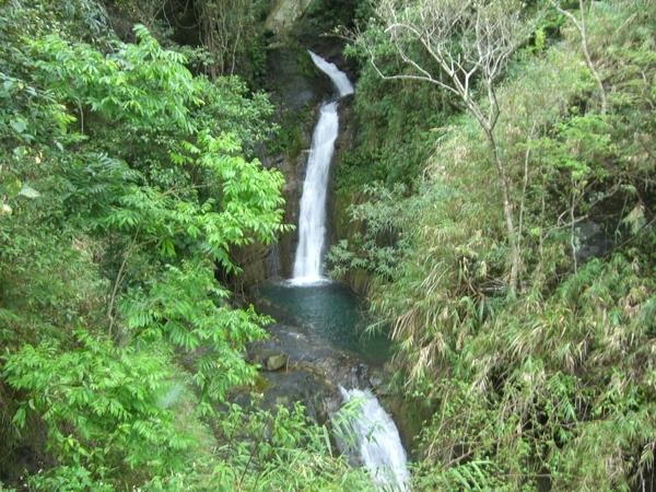知本森林遊樂區內的瀑布